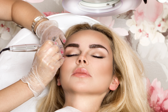 Permanent makeup foundation