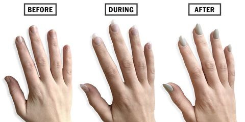 Nail Extension process