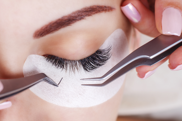 permanent eyelash extensions cost