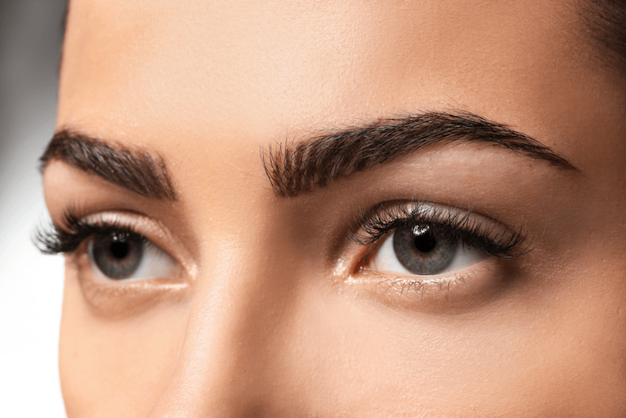 Microblading Eyebrows Shape Up To