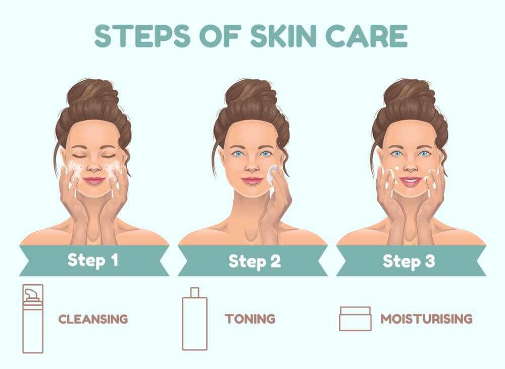 how to get clear glowing skin